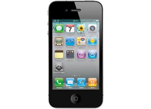 iPhone 4S 16GB Yourfone schwarz - yourfone Allnet Flat Handy 25 e-plus