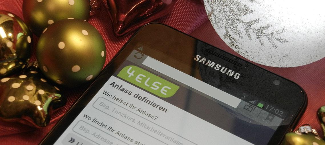 Handy weg wegen Vorweihnachtstress