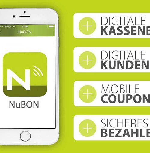 Mit der NuBON App Kassenbons und Kundenkarten verwalten